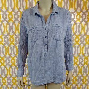 BEACH LUNCH LOUNGE Popover Shirt Size XL